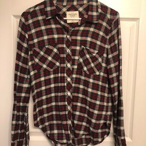 Abercrombie & Fitch Red Flannel